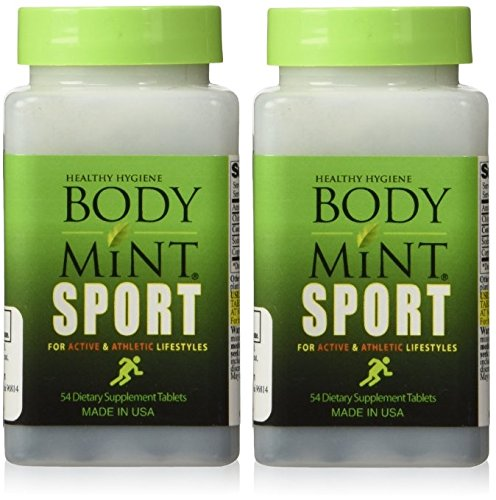 Body Mint Sport for Active and Athletic Lifestyles (2 Pack)