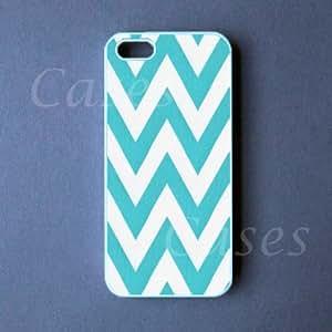 Iphone 5c Case - Teal Chevron Iphone 5c Cover