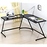 Amazon Com Glass Home Office Desks Home Office Furniture