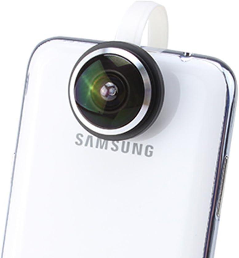 iboolo – ibh8003 – Clip Foto Fisheye 235 ° para Smartphone: Amazon.es: Electrónica