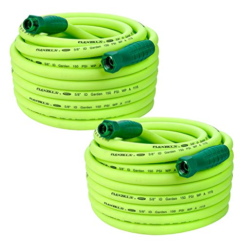 "Flexzilla Garden Hose w/SwivelGrip Connecters, 5/8"" x 75', 3"