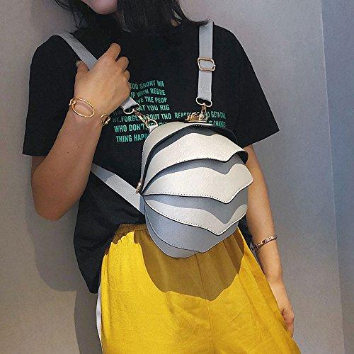 Nuova Xiaolongy Kaki A Personalità Coleottero Ondata Coreana Piccola Selvaggia Messenger Donna Grigio Tracolla Moda Borsa Versione wqtBZ8n