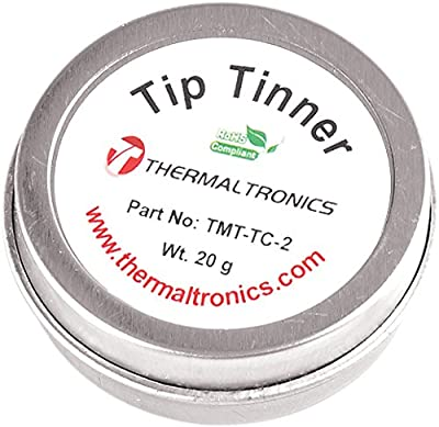 Thermaltronics TMT-TC-2 Lead Free Tip Tinner (20g) in 0.8oz Container from Thermaltronics