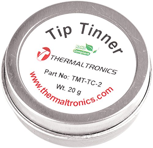 - Thermaltronics FBA_TMT-TC-2 Lead Free Tip Tinner, 20 g in 0.8 oz. Container