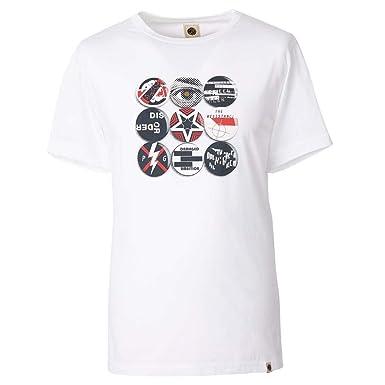 776c599486c Pretty Green Men s Badge Print T-Shirt SS