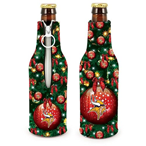 NFL Football 2015 Christmas Ugly Party Bottle Suit Holder Cooler 2-Pack