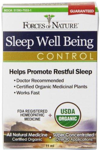Les forces de la Nature Sleep Well Being contrôle, 11 grammes