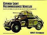 German Light Reconnaissance Vehicles, Horst Scheibert, 0887405223