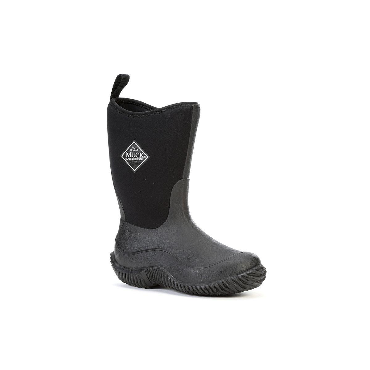 Muck Boot Hale Boot, Black/Black, 7 M US Toddler