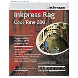 Inkpress PRCT200111725 Fine Art Rag Cool Tone 200 GSM 11in. X 17in. 25 Sheets