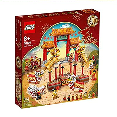 Lego Lion Dance Limited Edition 80104: Toys & Games