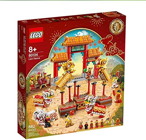 Lego Lion Dance Limited Edition 80104