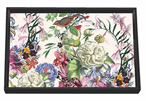 Cheap  Michel Design Works Romance Wooden Decoupage Vanity Tray, 12.25