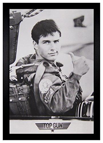 Tom Cruise Top Gun 24x36 Framed Poster (C2-1120)