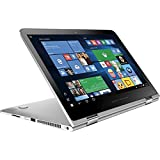 """HP 15t Spectre x360 2-in-1 15.6"""" 4K Ultra HD Touch-Screen Laptop with i7-6500U Processor up to 3.1GHz, 16GB Memory, and 256K SSD (Natural Silver)"""