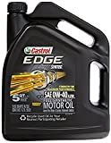 edge 0w - Castrol 03101 EDGE 0W-40 Synthetic Motor Oil - 5 Quart (4)