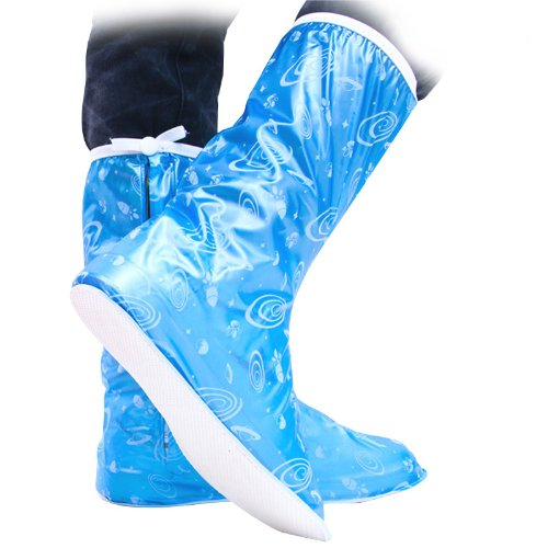 for Women Protector Children Foldable Fashion Boys Blue Rain Boots Cute Waterproof Girls Beautifull Covers Men Shoes Boots UUstar fx4OP