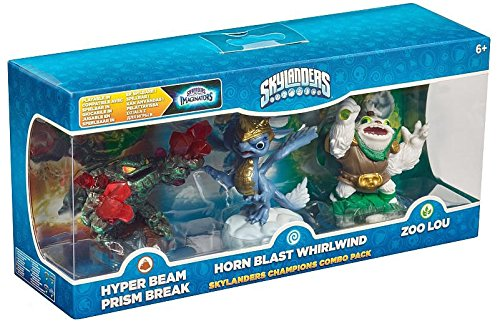 Skylanders Imaginators - Classic Champion Triple Pack - Prism Break, Whirlwind and Zoo Lou (Xbox One/PS4/PS3/Xbox 360/Nintendo Wii U)