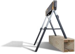 TOUGHBUILT 42 in. Adjustable Folding Sawhorse-C420 - The Home Depot