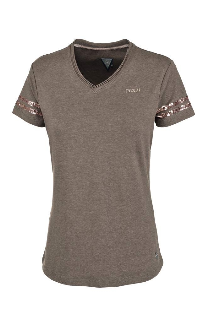Pikeur Damen Shirt V-Neck Holly FS 2017 taupe taupe taupe B06WP9S75D Jacken Mode-Muster adec0a