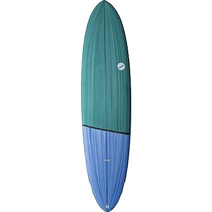 Amazon Com Nsp Fun Dreamrider Longboard Surfboard Taildip 7ft 6in