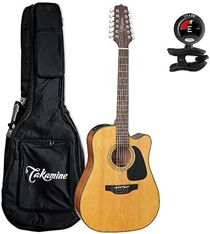 TAKAMINE gd30ce-12nat Dreadnought Cutaway Guitarra Electroacústica ...