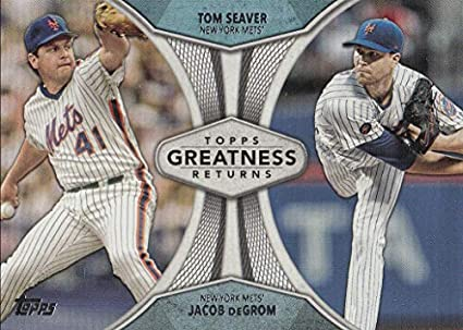 Amazoncom 2019 Topps Series 1 Greatness Returns Jacob