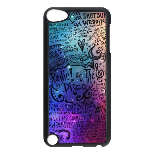Panic At The Disco Design Durable Hard Back Cover Plastic Case For Ipod Touch 5th