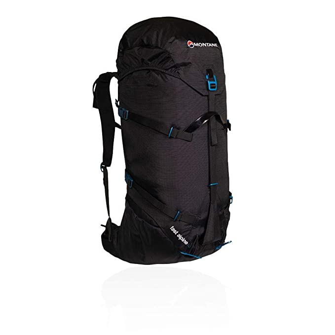 710f838a4677 Montane Fast Alpine 40 Hiking Backpack Medium/Large Black: Amazon ...