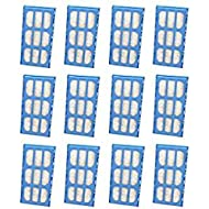 Replacement Water Filter Cartridges for Cat Mate & Dog Mate Fountains, Pack of 12