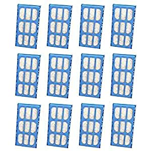 Nispira Replacement Water Filter Cartridges Compatible with Cat Mate & Dog Mate Fountains, Pack of 12