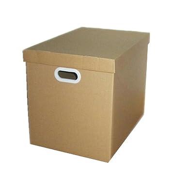 Fletion plegable grande eliminación archivo papel ligero reciclado caja de almacenaje con tapa: Amazon.es: Hogar