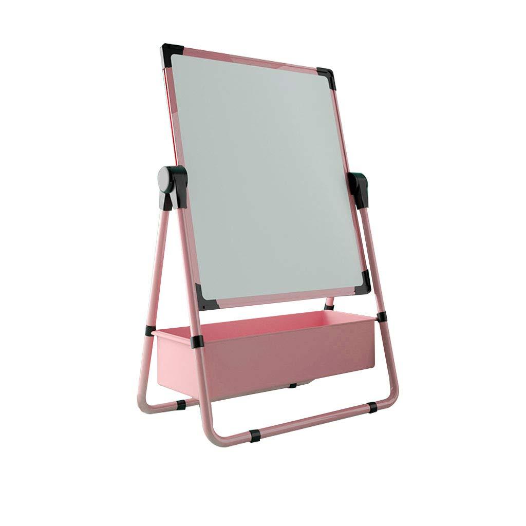 LING AI DA MAI Step2 Children's Easel Writing Board, Double-Sided Magnetic Drawing Board Bracket, Height Adjustable flip Children's Writing Board, Nano dustproof Luxury Suit by Furniture feet-DA