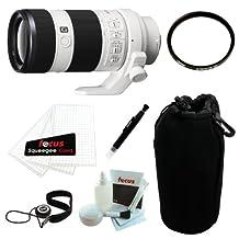 Sony SEL70200G FE 70-200mm F4 G OSS E-Mount Interchangeable Full Frame Telephoto Zoom Lens w/ Accessory Kit (Starter)