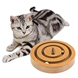 Petspaced [Double-sided] Interactive Cat Toy - Front Side. Feeder Dog - Back Side