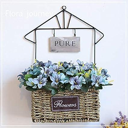 Amazon Com Mqlerry Silk Flowers Wedding Artificial Plastic