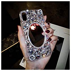 Mirror Twinkle Rhinestone iPhone Cover-2a