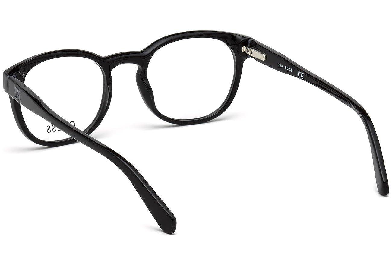 c0b290e265 GUESS Eyeglasses Guess GU 1907 001 shiny black  Amazon.in  Clothing    Accessories