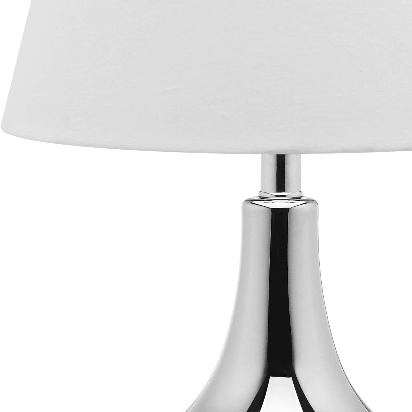 Safavieh Lighting Collection Amy Gourd Glass Table Lamp, Silver, Set of 2 by Safavieh: Amazon.es: Hogar