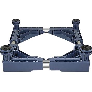 Ruedas Móvil Especial Base para Uso Doméstico Electrodomésticos Pedestal para Lavadora Home Heavy Duty Totalmente Ajustable