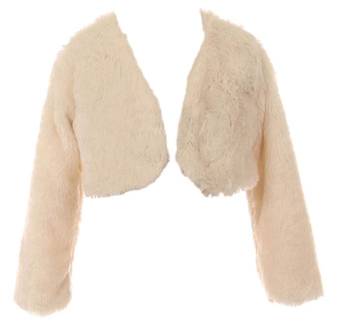 Amazon.com: BluNight Collection - Chaqueta de pelo sintético ...