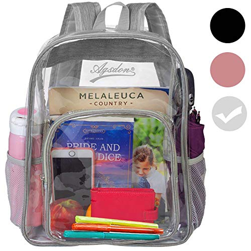 Clear Backpack Through Transparent College