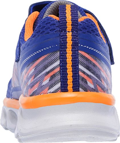 SKECHERS - TREMBLERS 90581L - navy orange