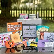 A Little Something Subscription Box for Seniors - Monthly Gift Box - Ideal for Grandmother, Mother, Senior Cit