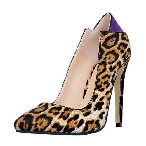 Guoar - Cerrado Mujer Leopard 's Spots