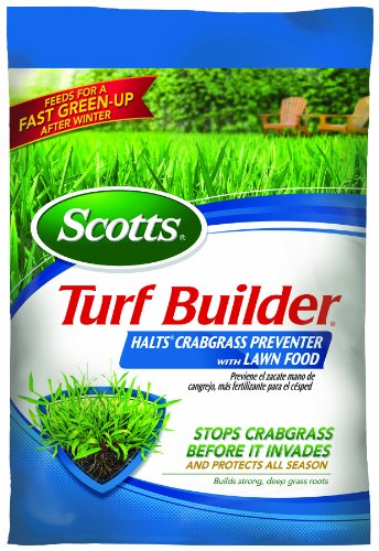 (Scotts 31115 Turf Builder with Halts Crabgrass Preventer, 30-0-4, 15000 Square Feet Bag)