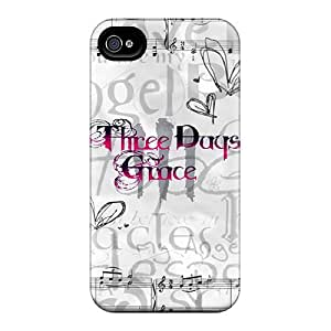 Shock Absorption Hard Cell-phone Case For Iphone 6 With Unique Design Beautiful Three Days Grace Skin KellyLast