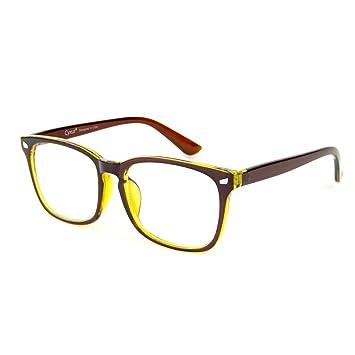 77c2efa7f4c Cyxus Computer Glasses Blue Light Blocking for Women Men Gaming Eyewear  Reduce Eyestrain (8082