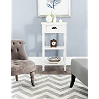 Safavieh American Homes Collection Chucky White Accent Table