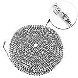 Metal Fan pull chain extension, ceiling fan chain
